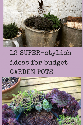 12 super stylish ideas for pots