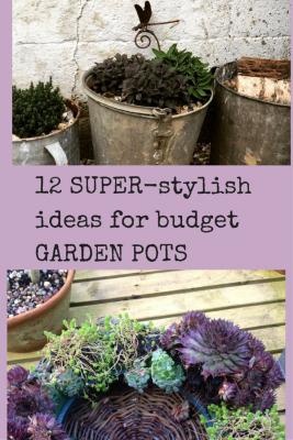 12 super stylish ideas for pots