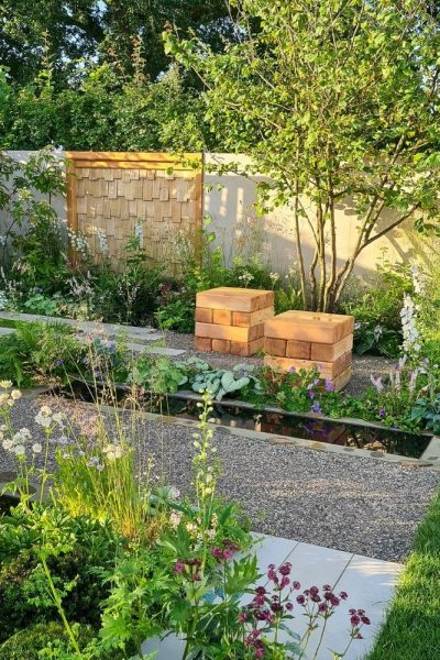 Show garden RHS Hampton Court Palace Garden Festival 2021