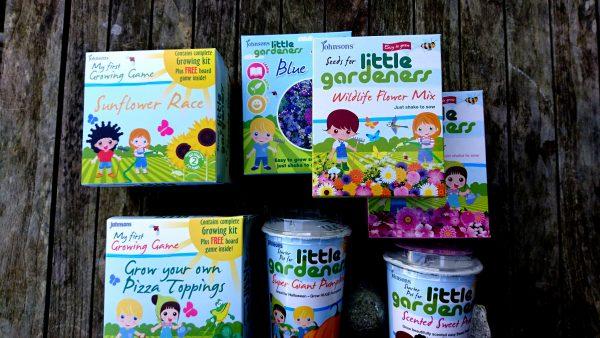 Johnson's Seeds Little Gardeners range
