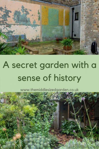 A secret garden with a sense of place