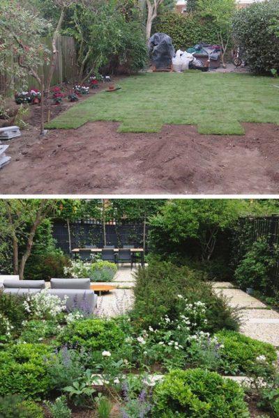 Award winning garden in Barnes