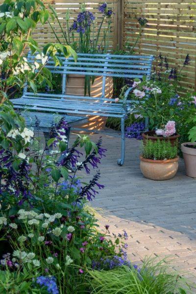 Charlie's courtyard garden