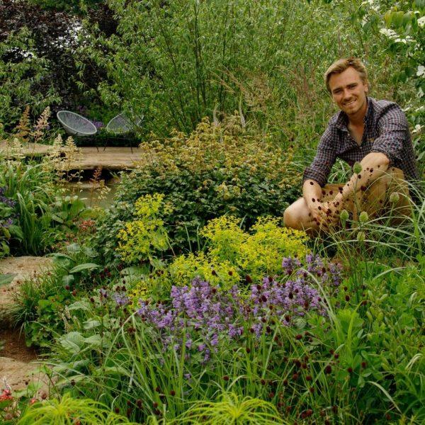 Jamie Butterworth show garden