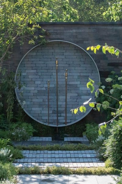 recycled and upcycled garden design