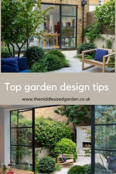 Top garden design tips