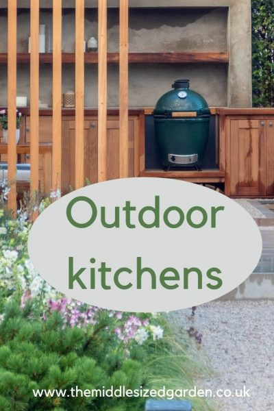 Viking garden outdoor kitchen