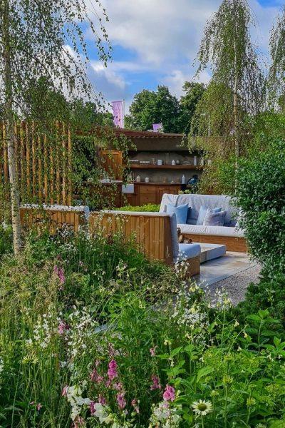 Viking Friluftsliv garden at Hampton Court