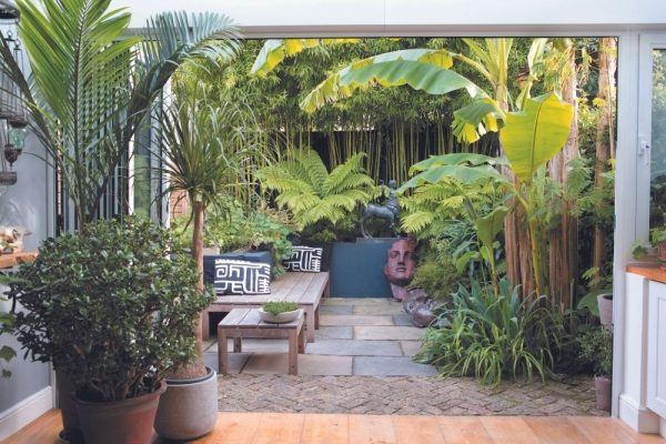 The Garden Room planted densely to create a haven