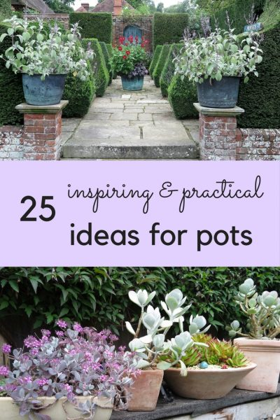 25 inspiring and practical ideas for garden pots