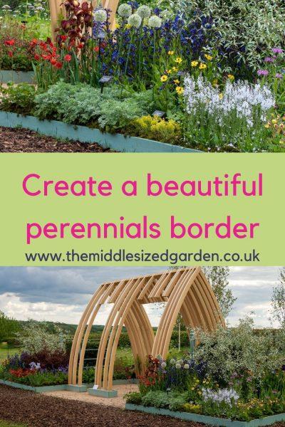 Hardys show garden full of perennials