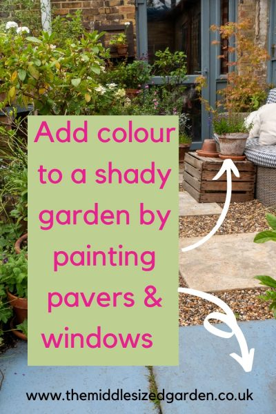 Paint tips for shady gardens