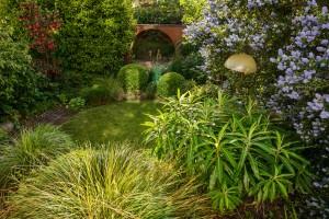 Germinate design middle of garden