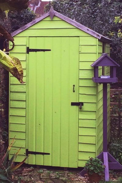 What colour should I paint my shed? - The Middle-Sized