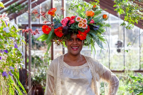 Arit Anderson switched to a gardening career from retail fashion.