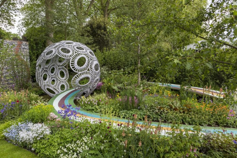 Charmant Coloured Garden Path Design Trend At RHS Chelsea 2016   The Brewin Dolphin  Garden