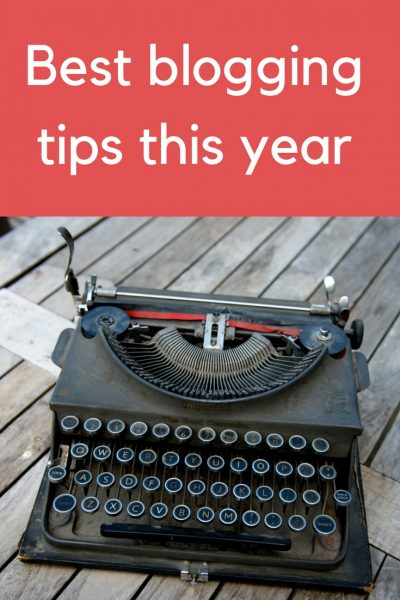 best blogging tips this year