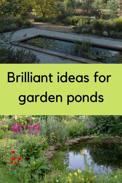 11 ideas from the best garden ponds I've seen #gardendesign #gardening
