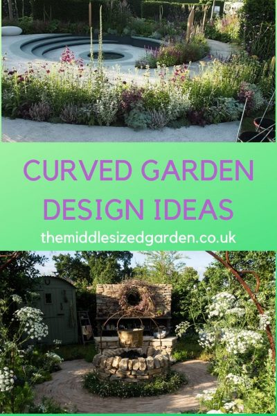 Curved border tips