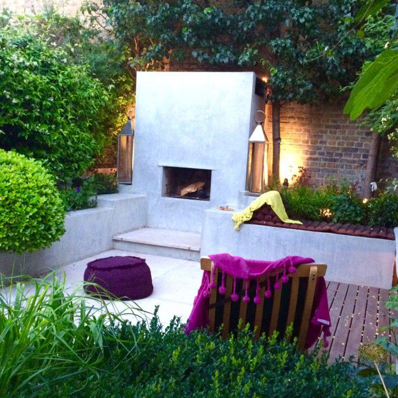 Lighting is key in urban gardens