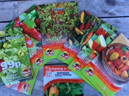 Thompson & Morgan chilli seeds