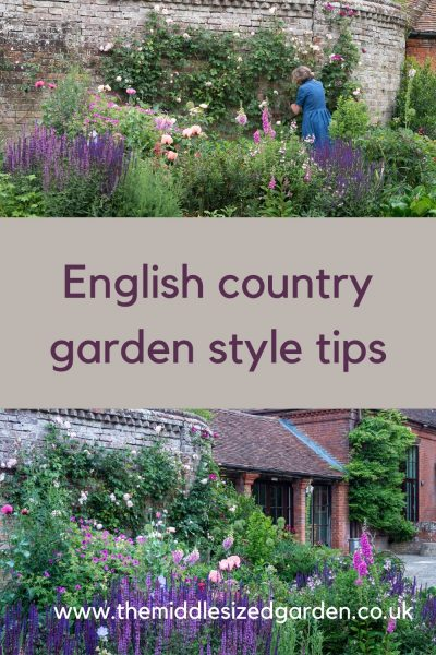 English country garden style tips