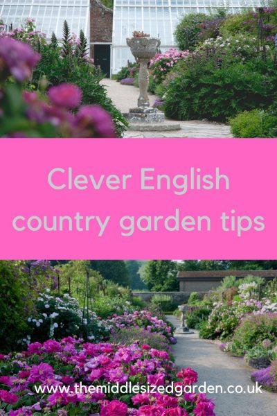 West Dean gardens - pink borders