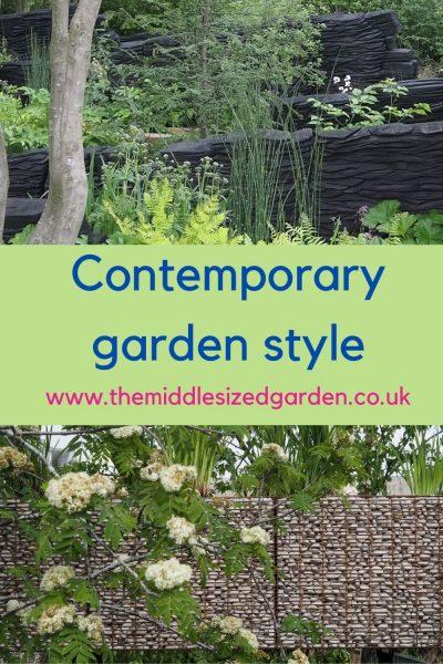 Contemporary garden style