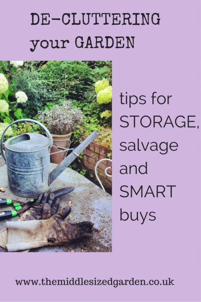De-cluttering your garden