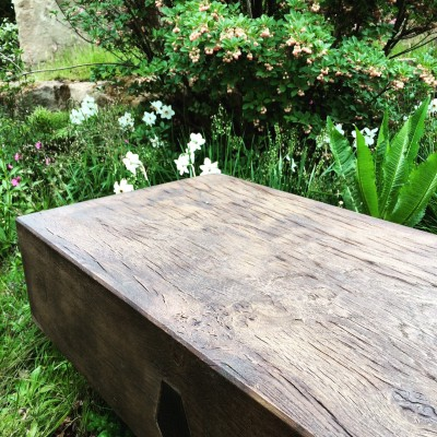 Dan Pearson's Chatsworth garden bench
