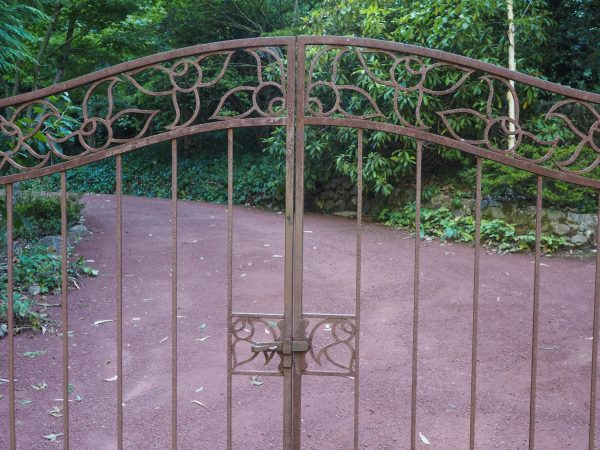 Think about your garden theme when choosing gates #gardendesign