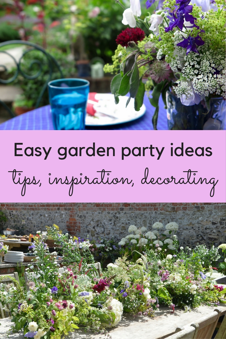 Easy garden party ideas and inspiration the middle sized for Garden design ideas blog