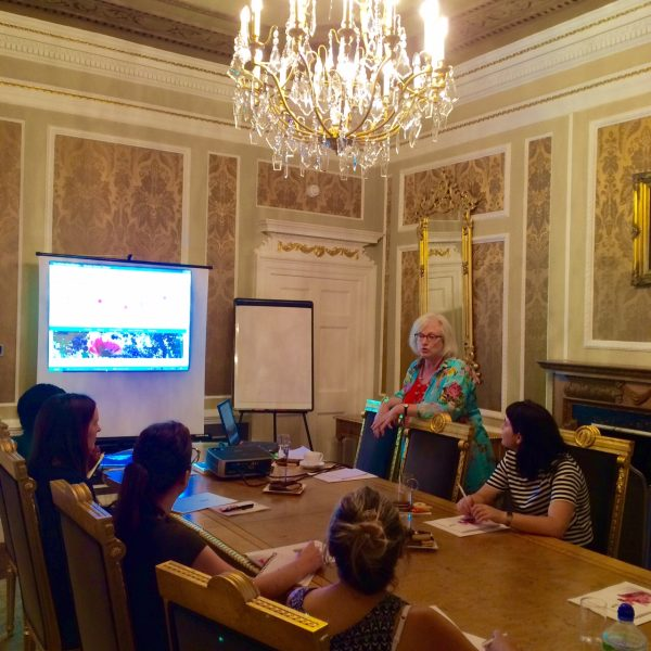 Blogging workshop London
