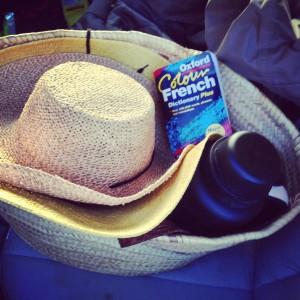 French gardening trip kit