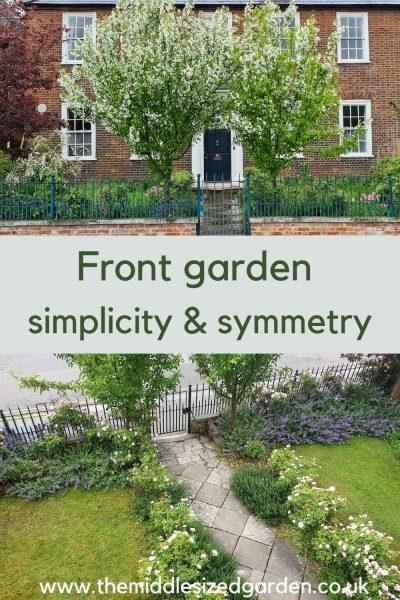 Middlesized Garden front garden