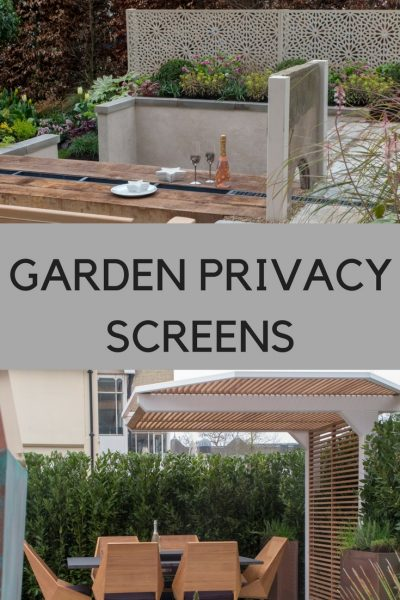 New Directions In Garden Privacy Screens The Middle Sized Garden Gardening Blog