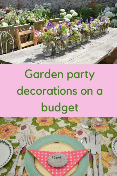 Garden party decoration ideas on a budget #gardenparty #garden