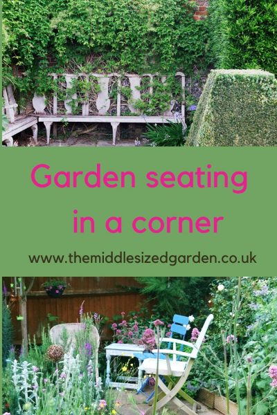 Garden corner seating options