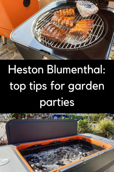 Heston Blumenthal on how to barbecue for a crowd