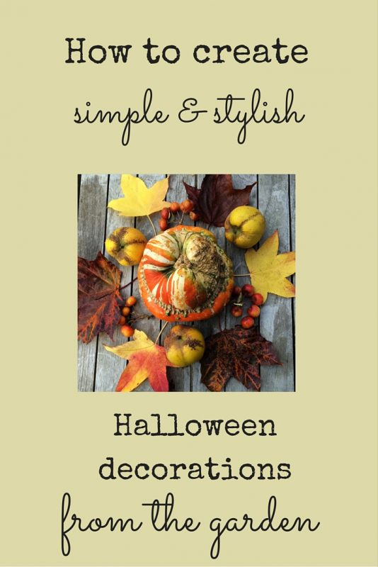 Easy DIY autumn decorating ideas for your porch, mantelpiece or table