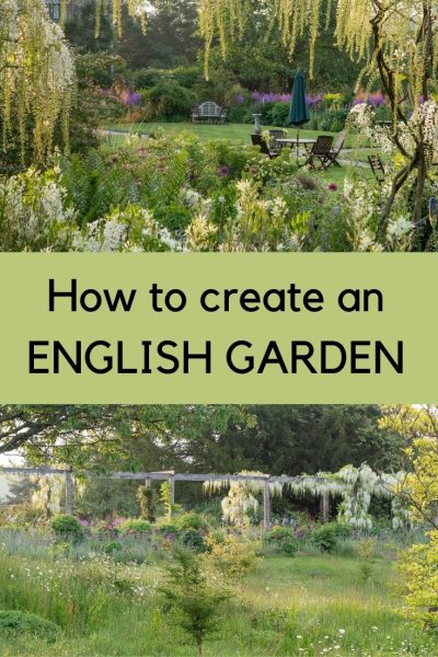 how to create an English garden