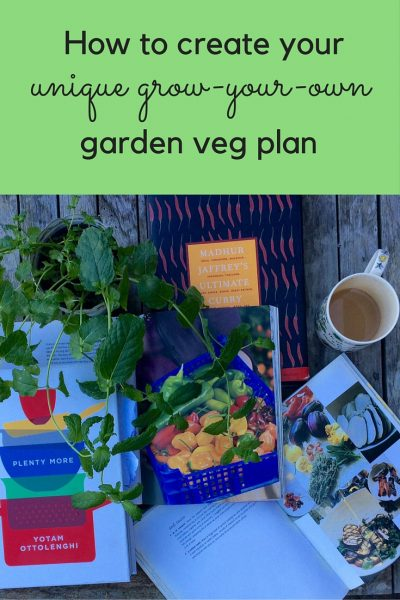 How to plan your veg garden from your cookery books