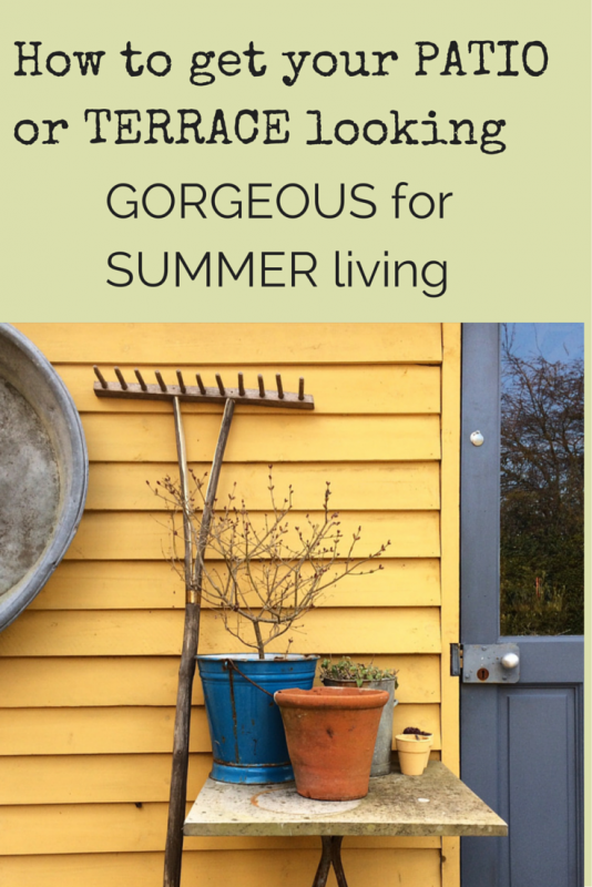 How to revamp your patio