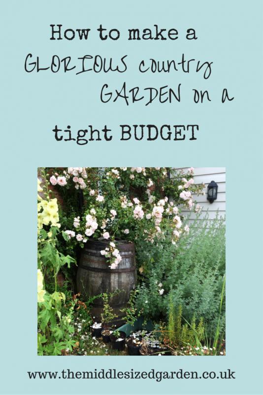 Money-saving tips for a romantic English country garden