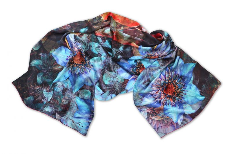 St Agnes Eve scarf