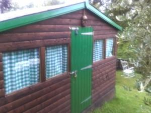 Julie Cohen's shed