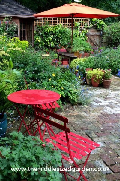 Create colour in a cottage garden
