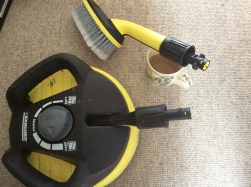 using Karcher K4 accessories