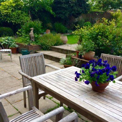 Our terrace Karcher-ed