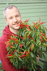 Chilli expert Kris Collins gives his top tips for growing chillies